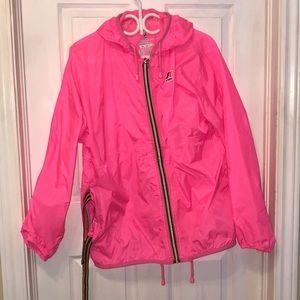 Jackets & Blazers - Pink Rain Jacket
